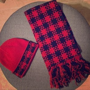Winter hat and scarf set. Never worn.